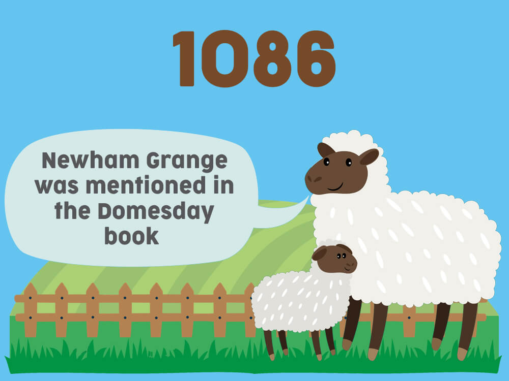 1086 - Neham Grange was mentioned in the Domesday book
