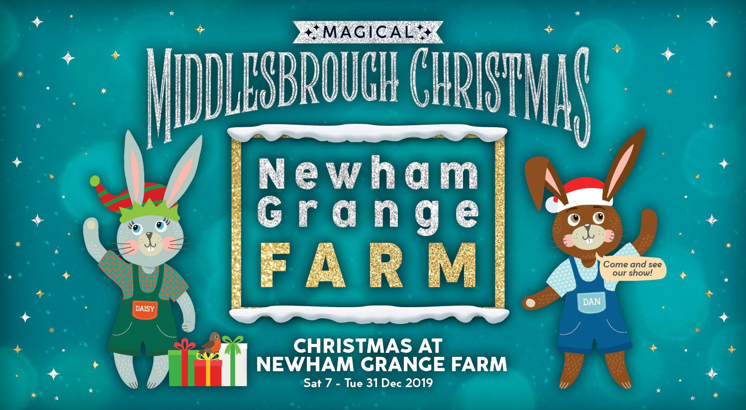 Christmas at Newham Grange Farm