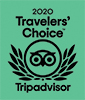 Trip Advisor - Travellers Choice Award 2020